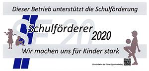 Schulförderer 2020 Rockenstein Sanitär